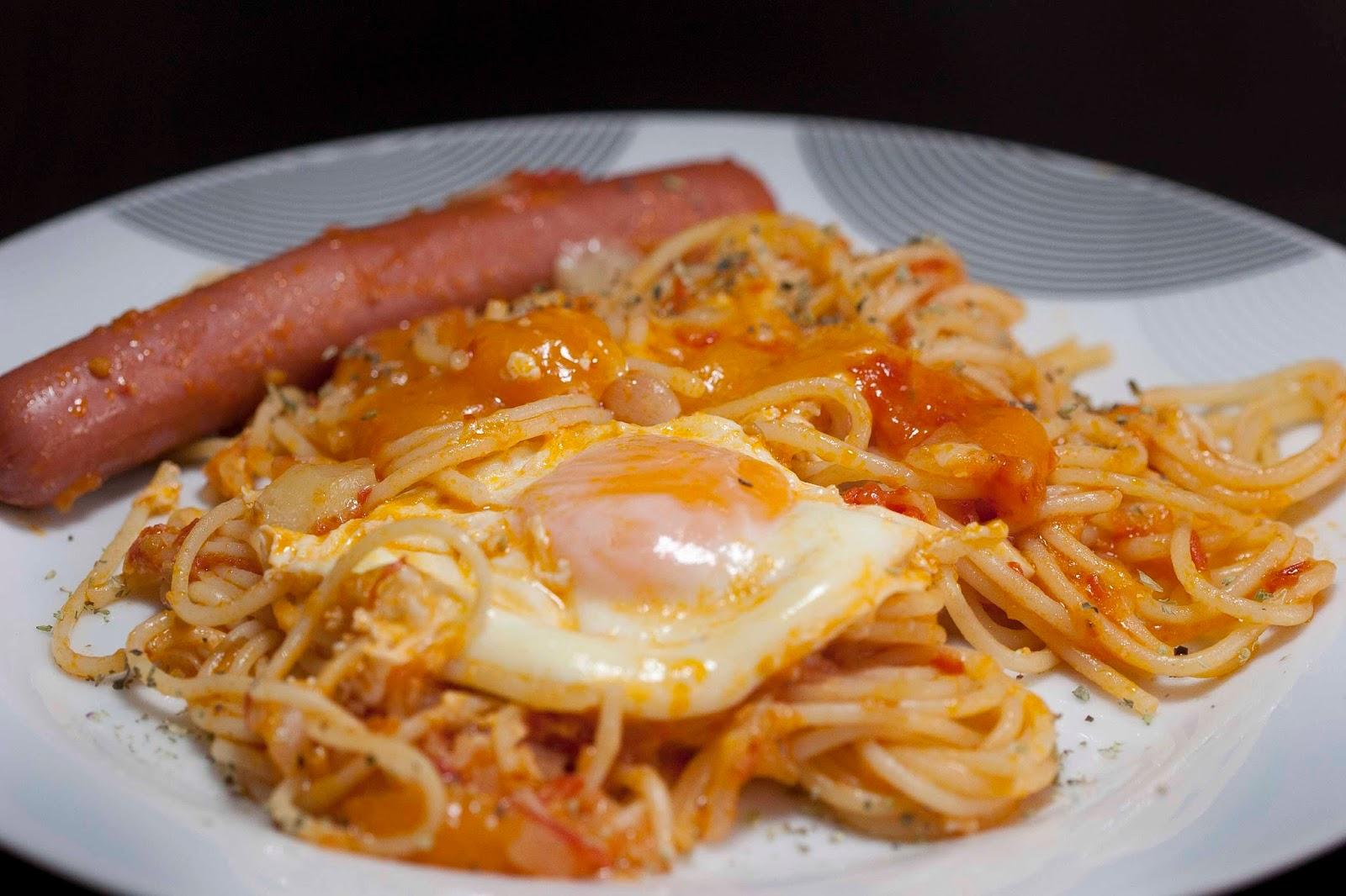 Espaguetis guisados for Plato de espaguetis