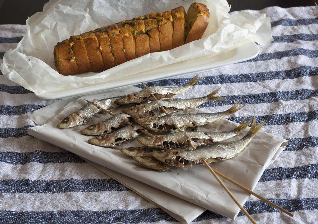 sardinas asadas