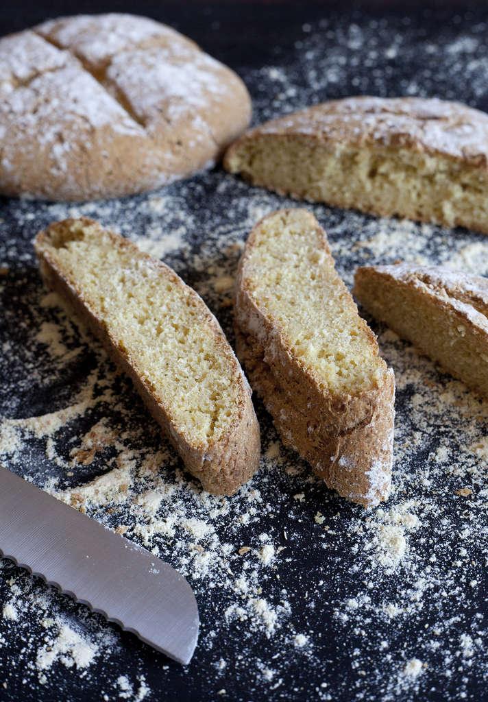 Pan de harina de maíz 2