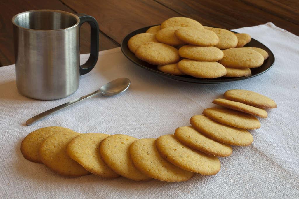 Galletas de harina de maiz 1