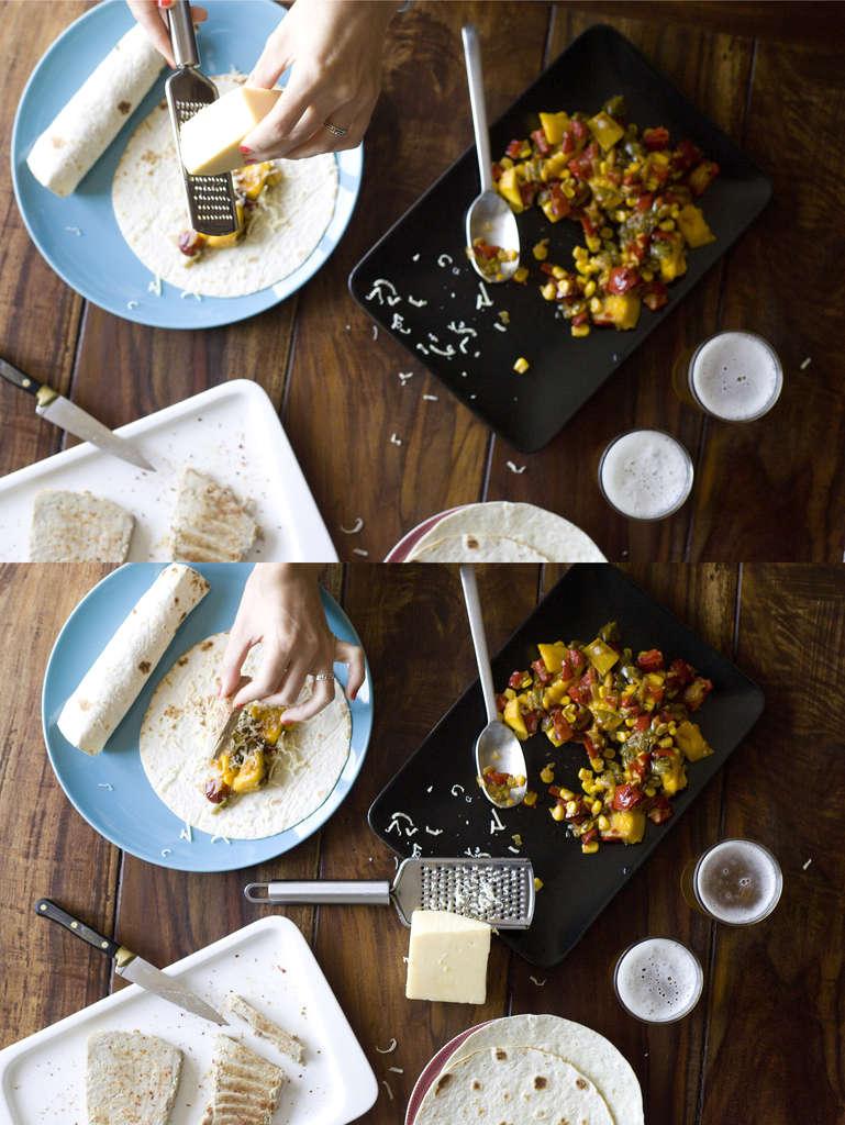 Burritos de atún 2