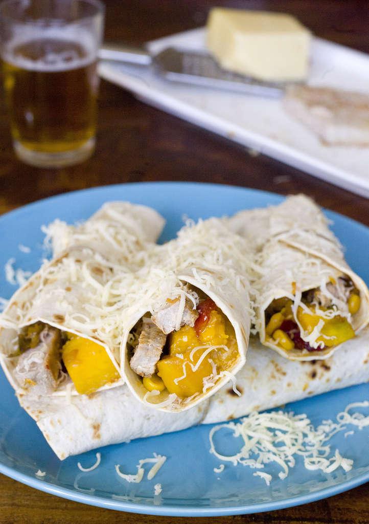 Burritos de atún 3