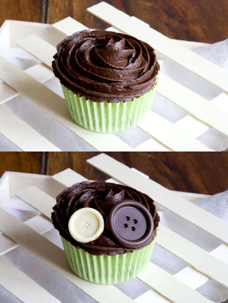 Cupcakes de chocolate 6
