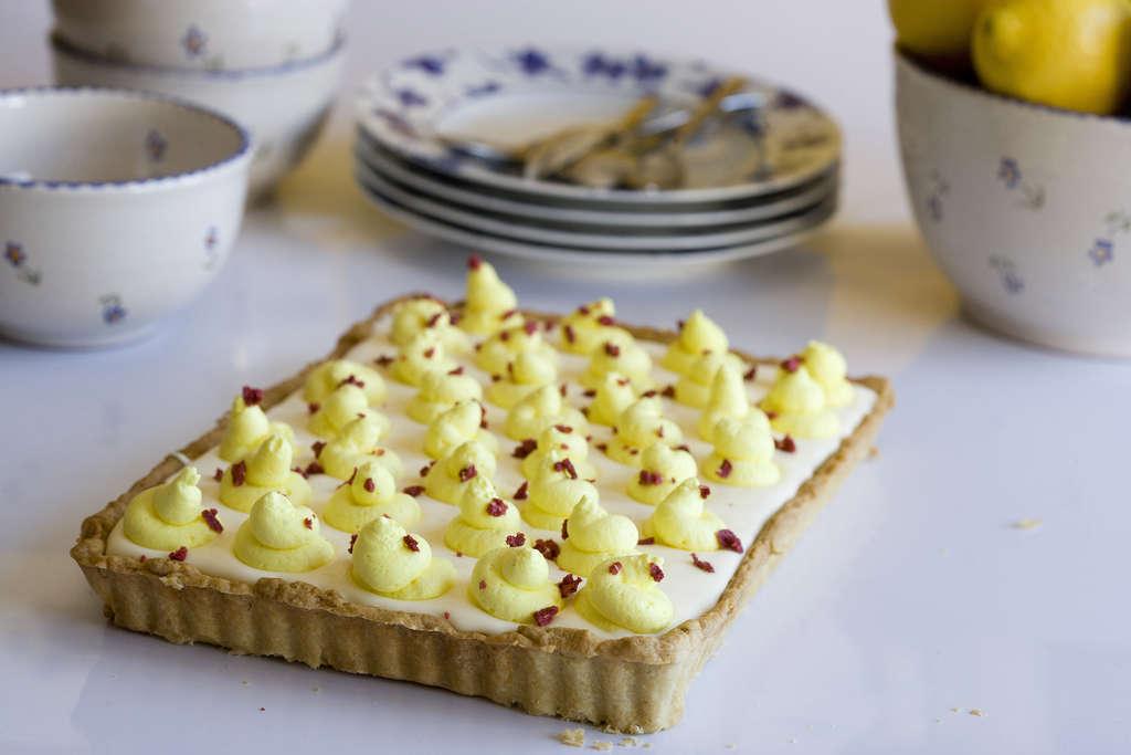 Tarta de limón y crema mascarpone 1
