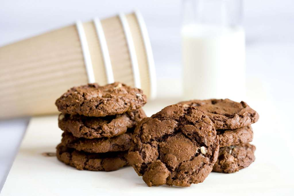 Cookies con doble chocolate 1