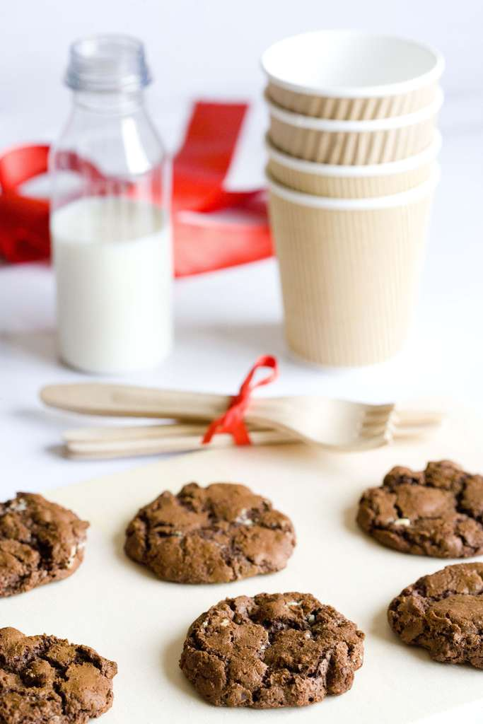 Cookies con doble chocolate 2