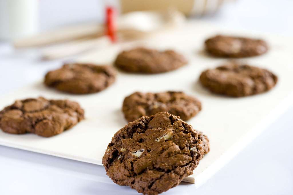 Cookies con doble chocolate 3