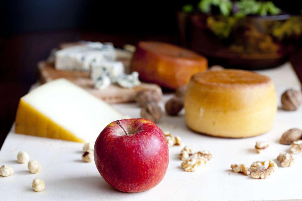 Ensalada de quesos asturianos 4
