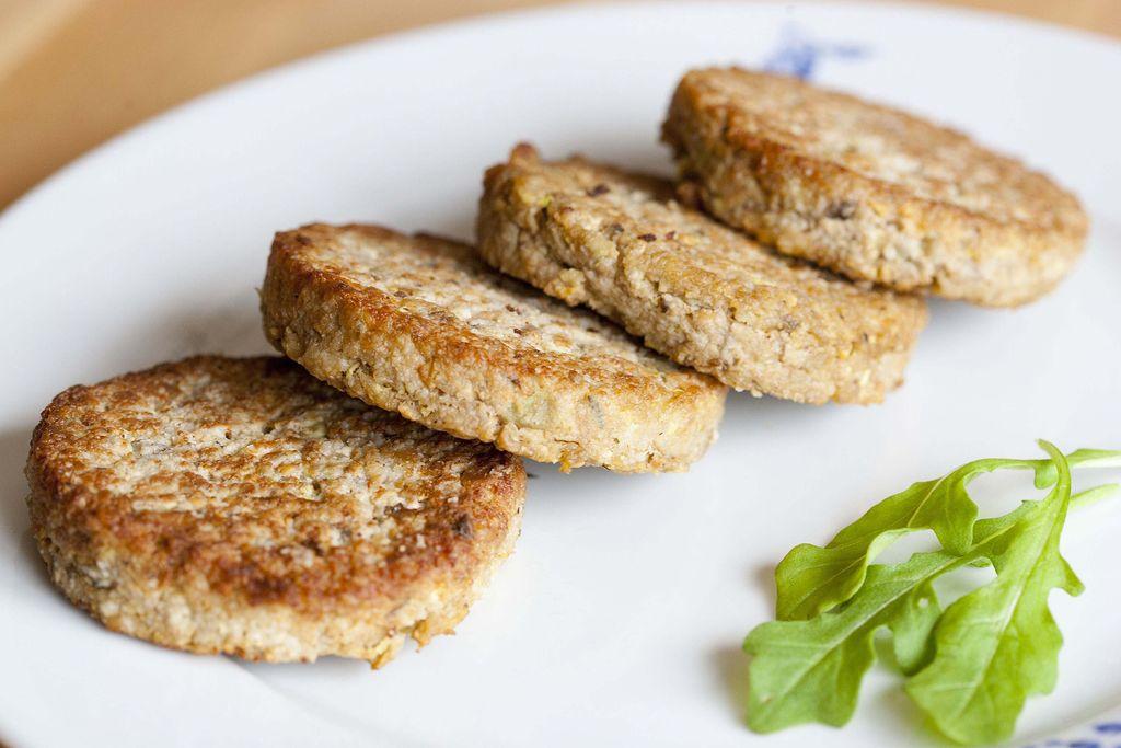 Hamburguesa vegetal con tofu 1