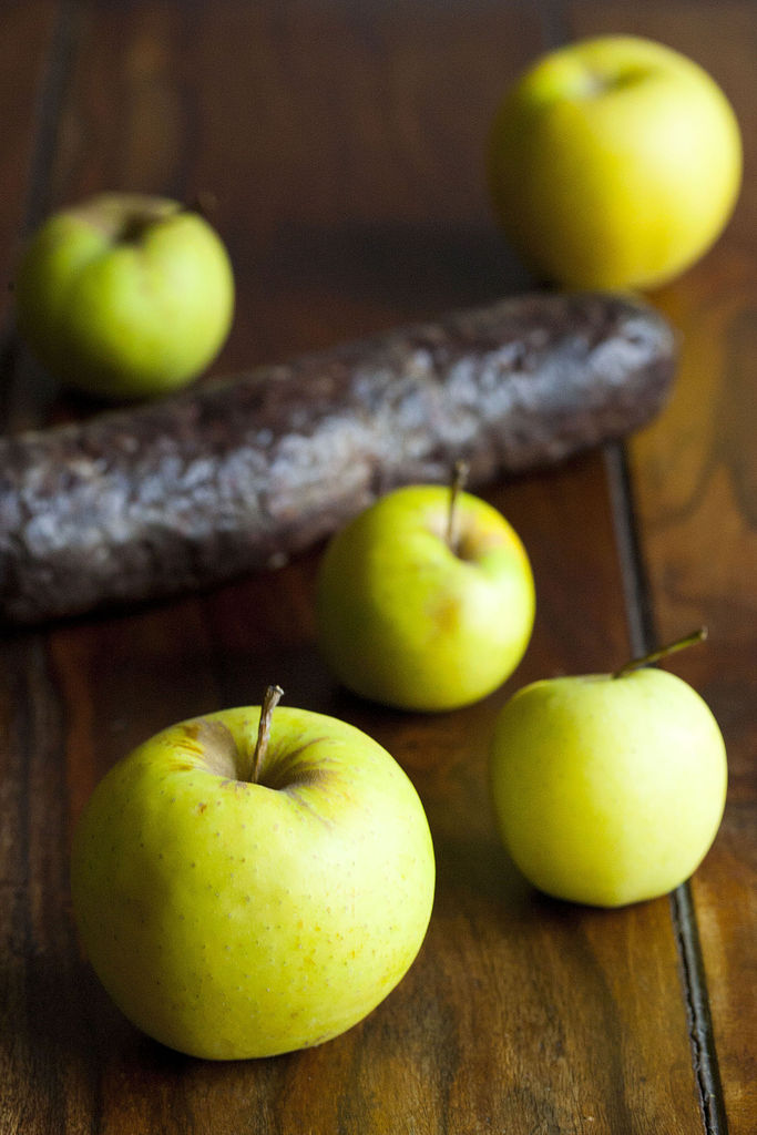 Quiche de morcilla de Burgos y manzana 1