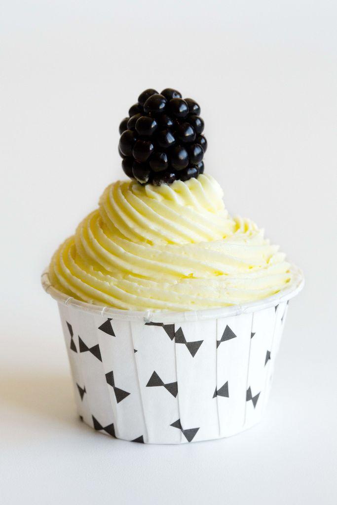 Cupcakes de limón y moras 4