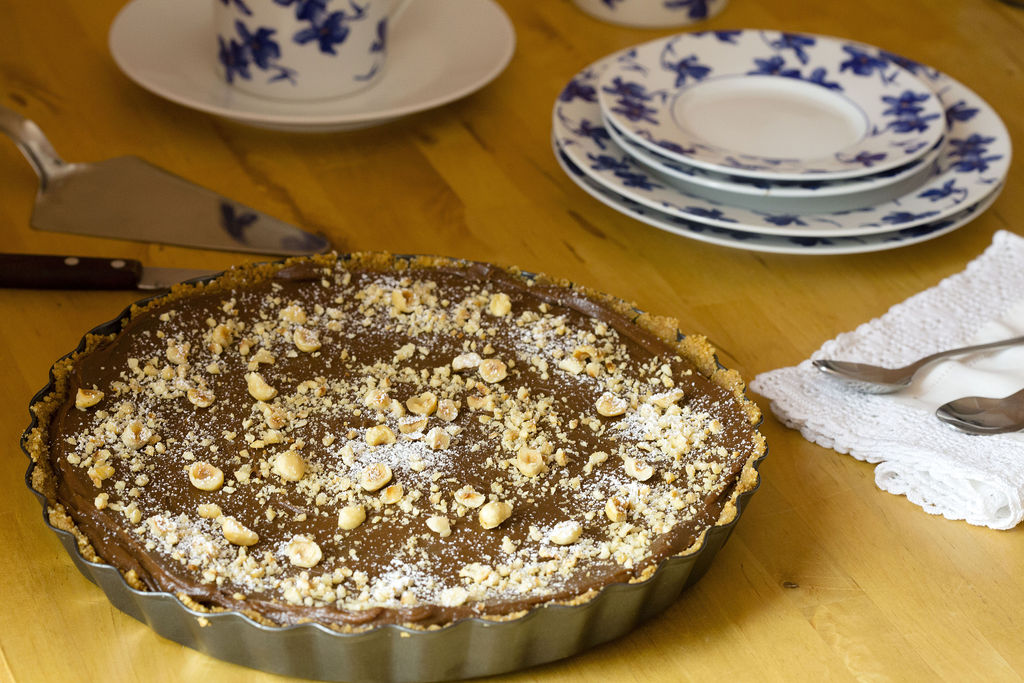 Tarta tonta de chocolate 1