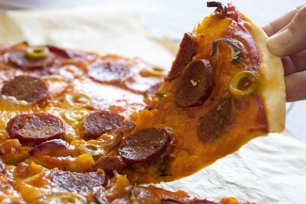 Pizza de pepperoni 1
