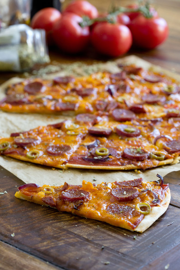 Pizza de pepperoni 3