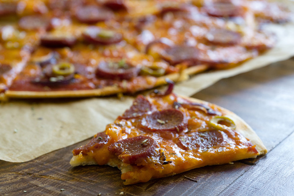 Pizza de pepperoni 6