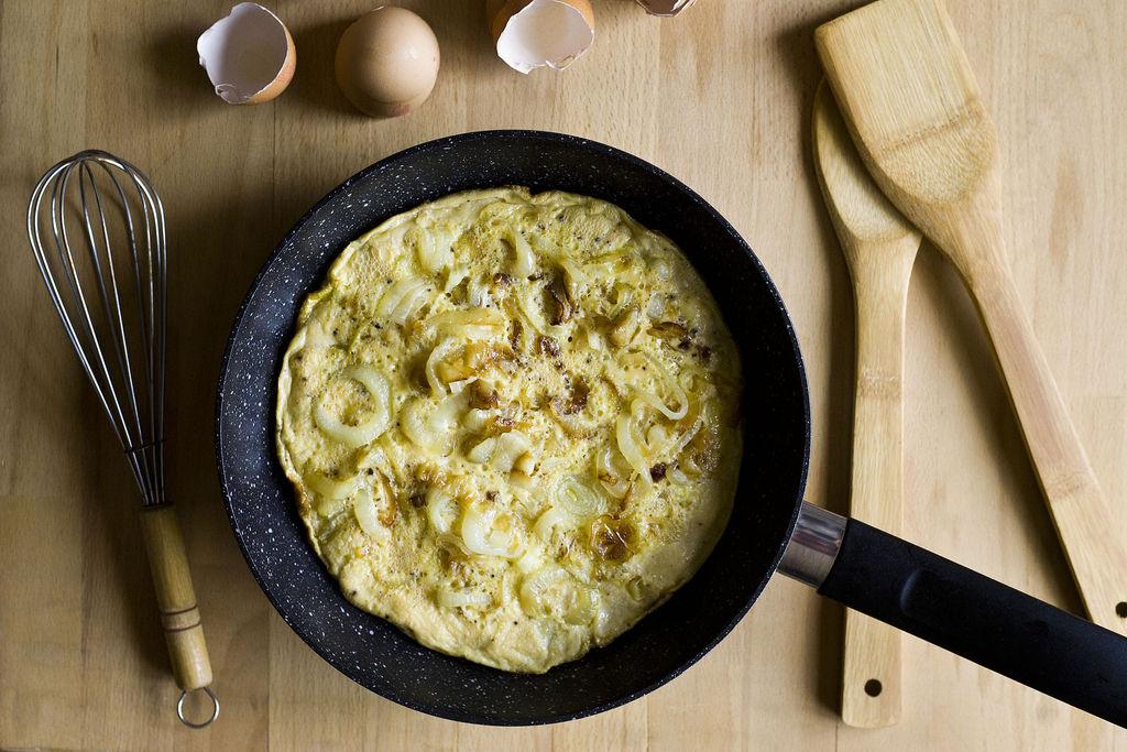 Frittata de cebolla 3
