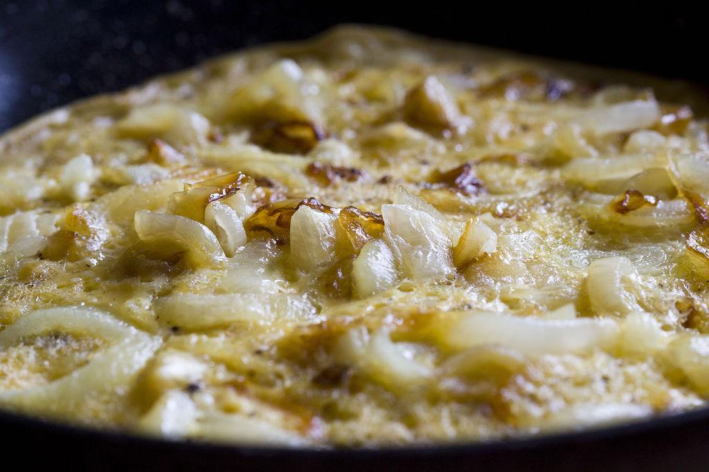 Frittata de cebolla 4
