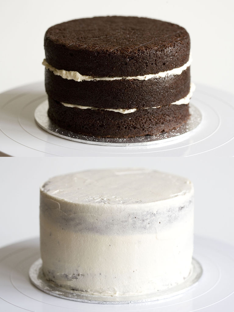 Tarta de chocolate y buttercream de vainilla 'Monster High' 5