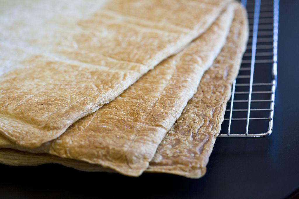 Tarta milhojas de crema pastelera 6
