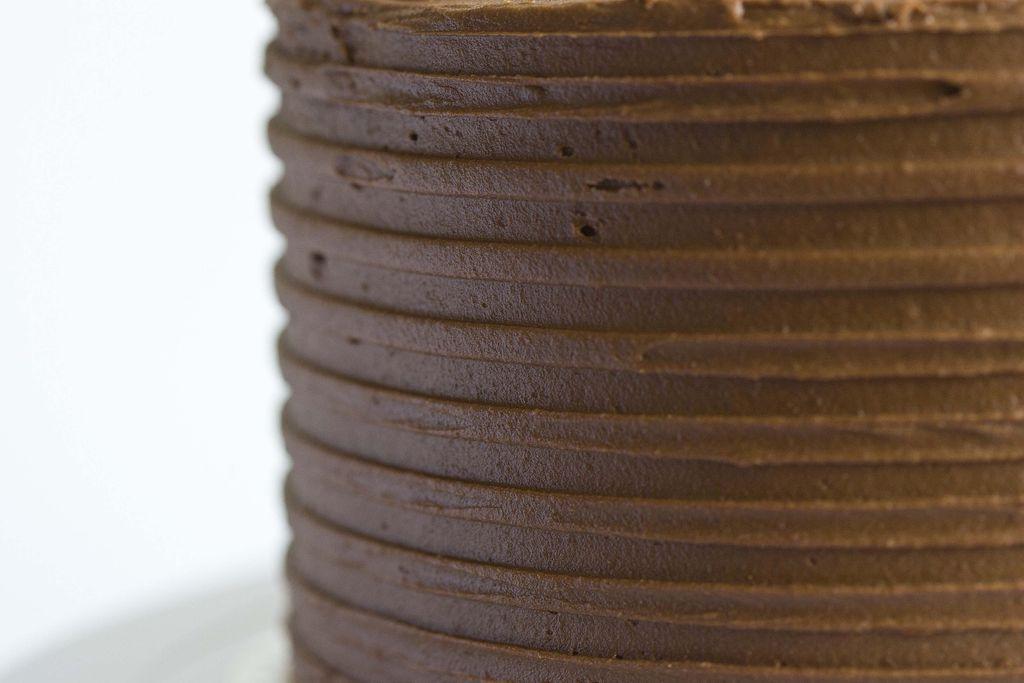 Tarta de plátano y buttercream de chocolate 1