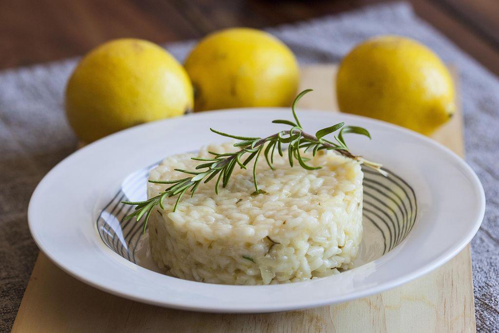 Risotto al limón y romero fresco 1