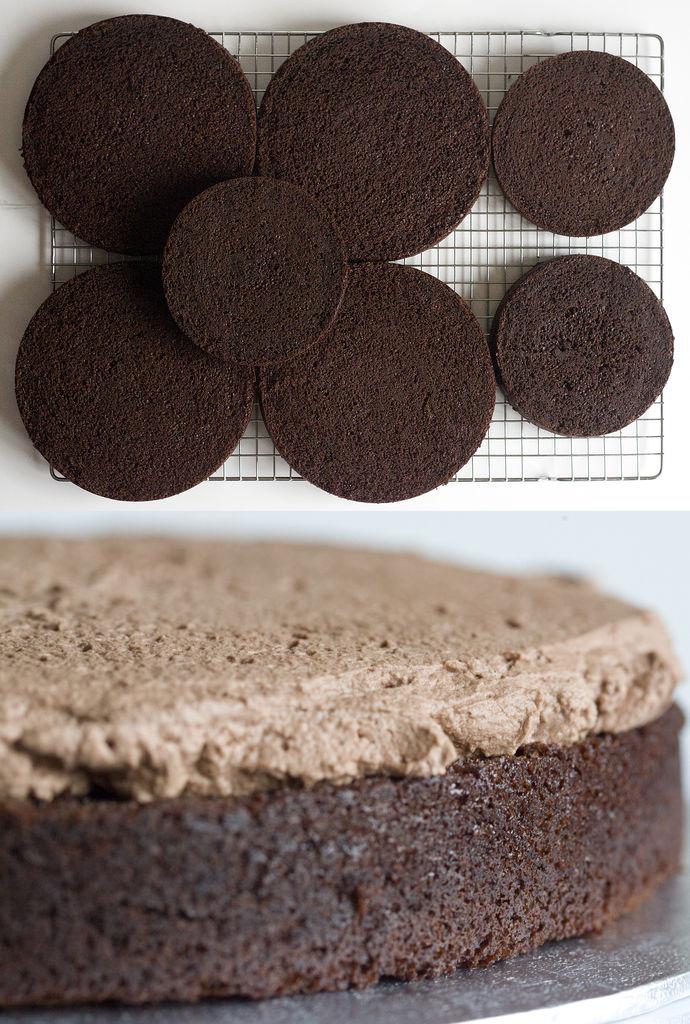 Tarta de chocolate crujiente 13