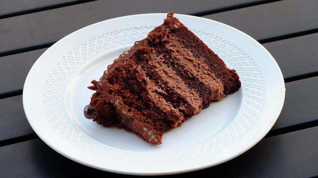 Tarta de chocolate crujiente 4