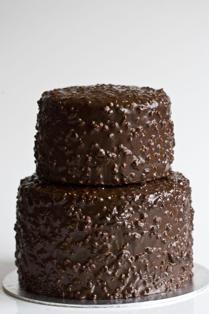 Tarta de chocolate crujiente 6